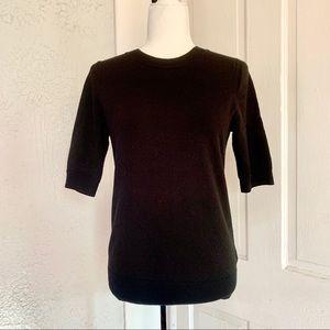 Banana Republic | Fine Merino Wool Zip Sweater